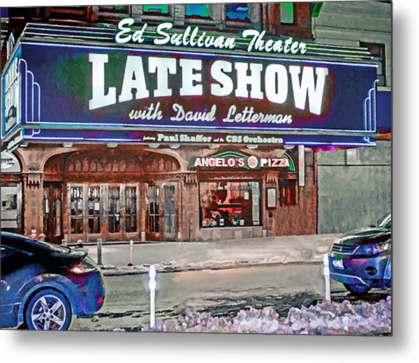 Ed Sullivan Theater Metal Print