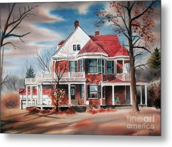 Edgar Home Metal Print