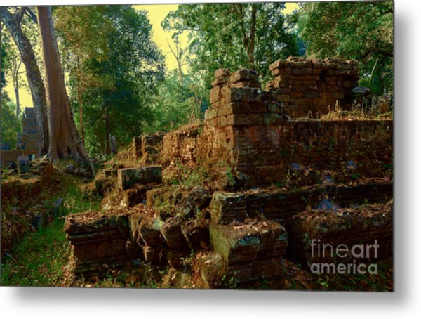 Edge Of Ruin Metal Print