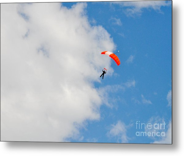 Edge Of The Clouds Metal Print