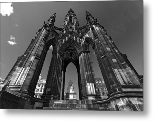 Edinburgh's Scott Monument Metal Print