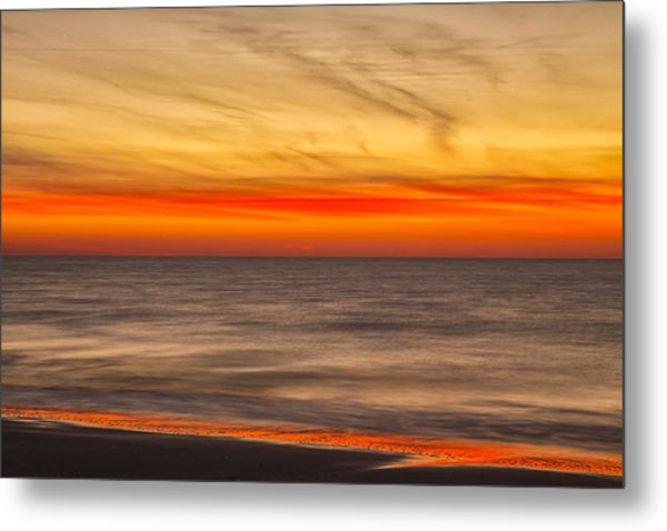 Edisto Beach Sunrise 07 Metal Print