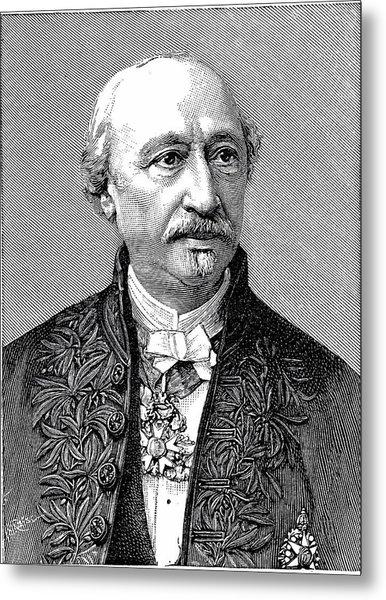 Edmond Becquerel Metal Print by Universal History Archive/uig