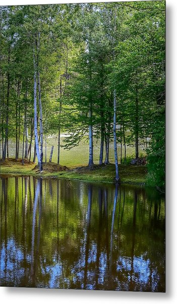 Edson Hill Reflections Metal Print