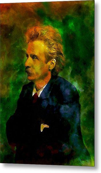 Edvard Grieg Metal Print