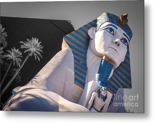 Egypt Or Usa  Metal Print