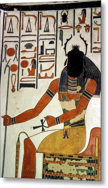 Egyptian God Khepri Metal Print