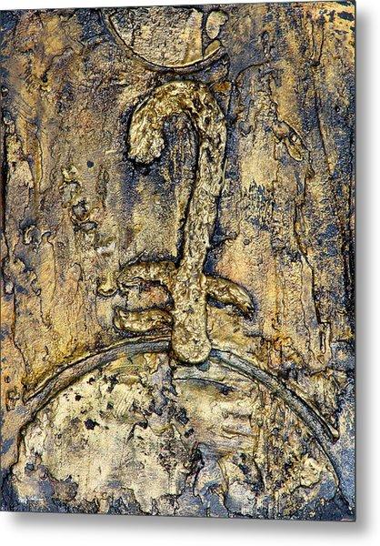 Egyptian Symbol For God Metal Print by Jeffrey Oldham