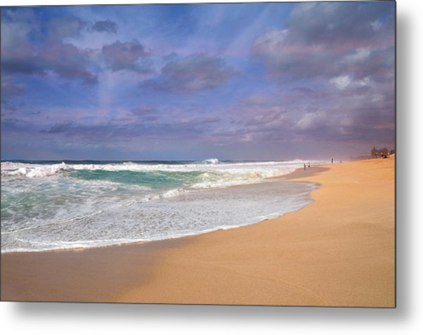 Ehukai Beach Metal Print