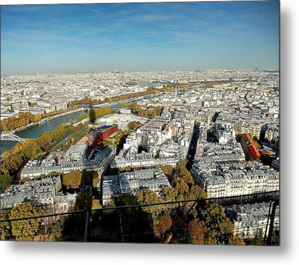 Eiffel 558 Metal Print
