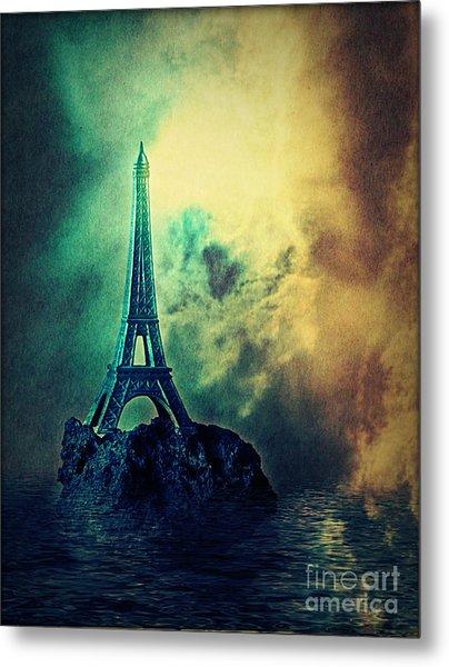 Eiffel Lighthouse Metal Print