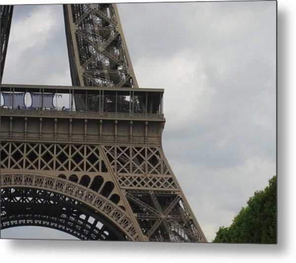 Eiffel Tower Detail Metal Print by Stephanie Hunter