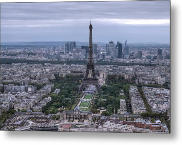 Eiffel Tower Metal Print by Ioan Panaite