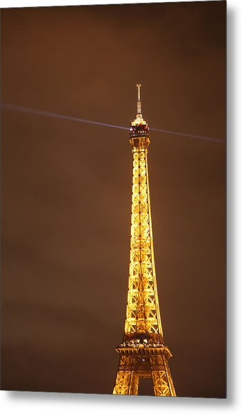 Eiffel Tower - Paris France - 011330 Metal Print by DC Photographer