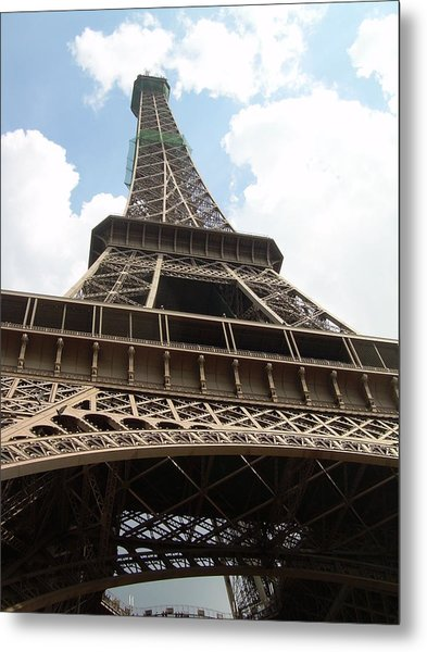 Eiffel Tower Metal Print by Tommy Budd