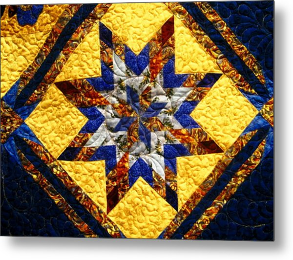 Eight Pointed Star Metal Print