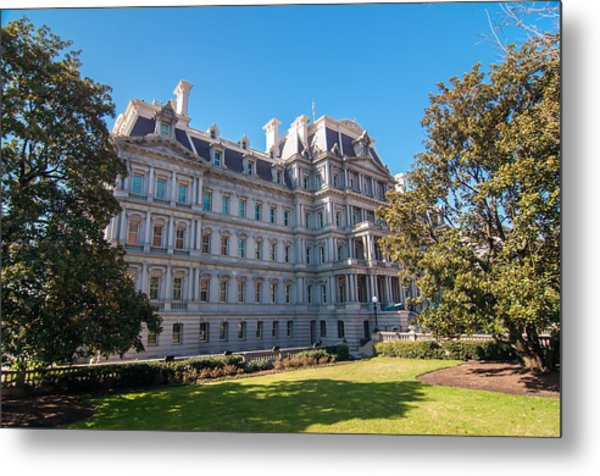 Eisenhower Executive Office Building In Washington Dc Metal Print