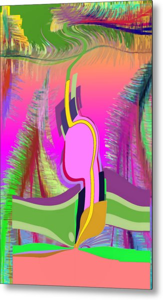 Ej Dance With Sne Metal Print