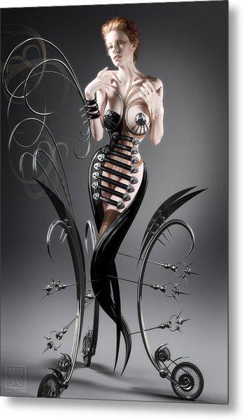 Ekat Metal Print by Tsubasa Art
