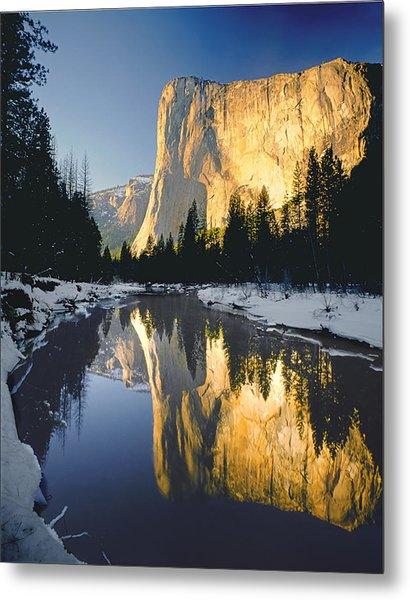 2m6542-el Cap Reflect Metal Print