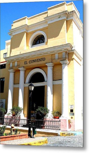 El Convento Hotel Metal Print