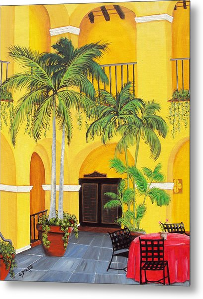 El Convento In Old San Juan Metal Print