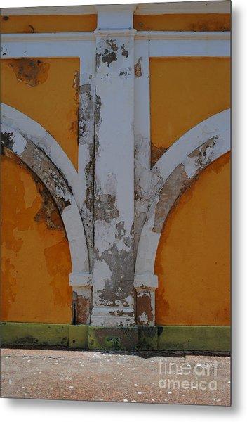 El Morro Deep Yellow Arch Metal Print