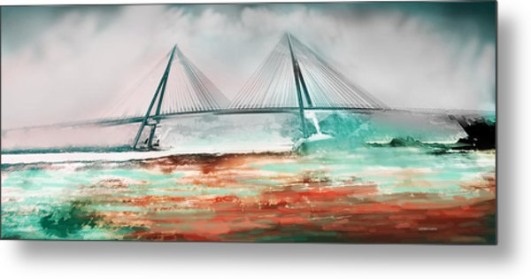 El Puente De Ayamonte Metal Print