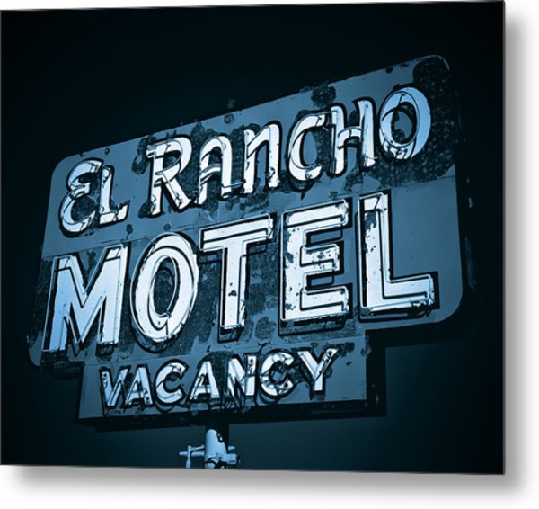 El Rancho Motel Metal Print
