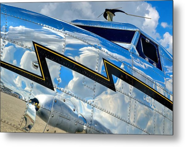 Electra Reflections Metal Print
