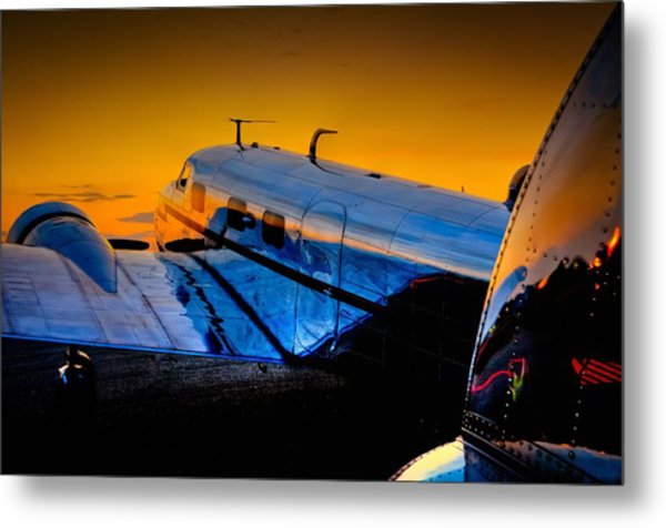 Electra Sunset Metal Print
