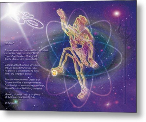 Electron Metal Print by Shiva Vangara