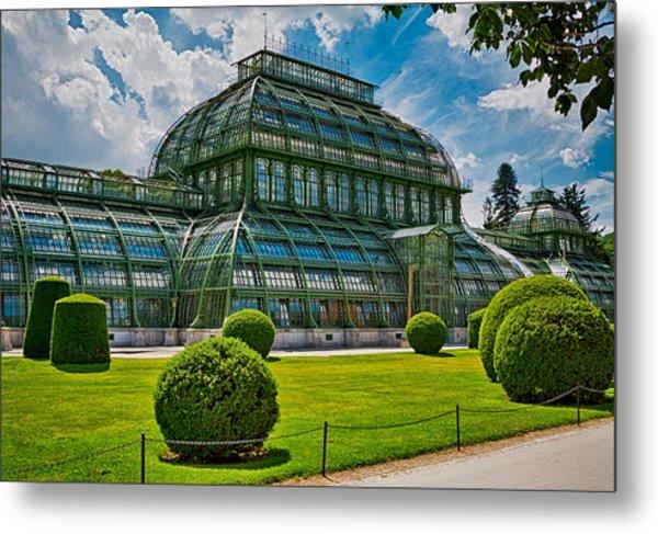 Elegant Greenhouse Metal Print by Viacheslav Savitskiy