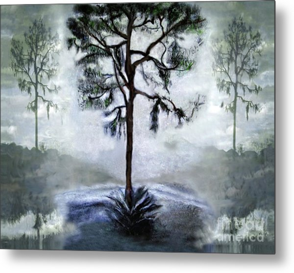 Elegy To A Tree Metal Print