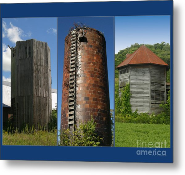 Elegy To Family Farms Metal Print