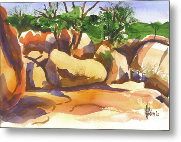 Elephant Rocks Revisited I Metal Print