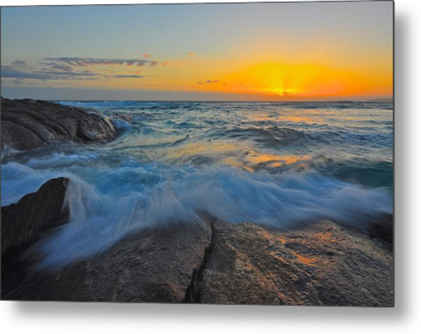 Eleven Mile Metal Print by Sally Nevin