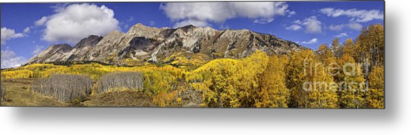 Elk Mountain Panorama Metal Print