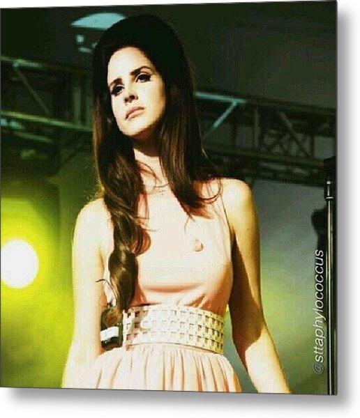 ella. #lanadelrey #teamlama #singer Metal Print