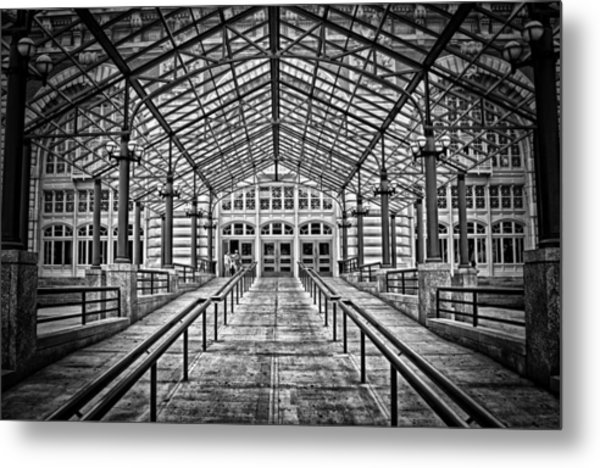 Ellis Island Entrance Metal Print