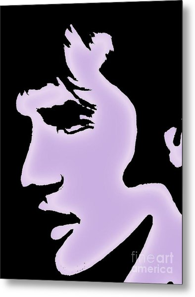 Elvis Pop Art Style Metal Print