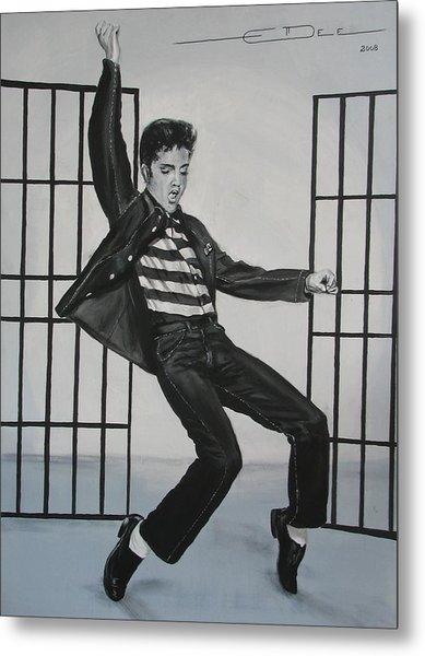 Elvis Presley Jailhouse Rock Metal Print
