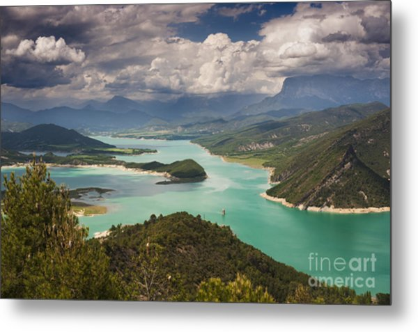 Embalse De Mediano 1 Metal Print by Michael David Murphy