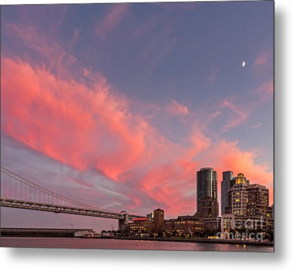 Metal Print featuring the photograph Embarcadero Sunset by Kate Brown