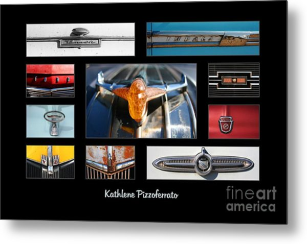 Emblems And Ornaments Metal Print by Kathlene Pizzoferrato