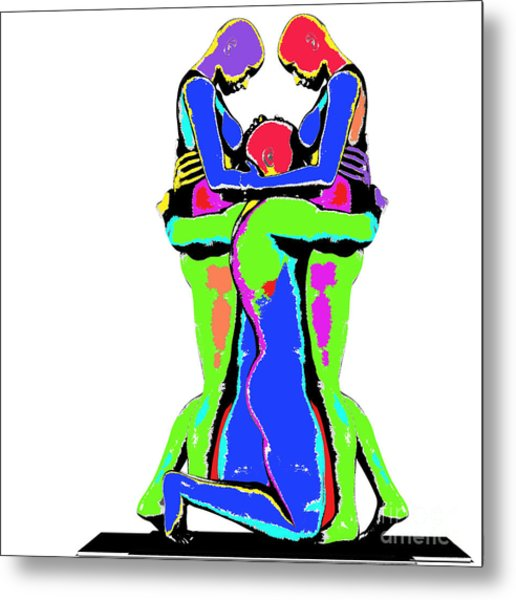 Embrace Of Love Metal Print by Jo Collins