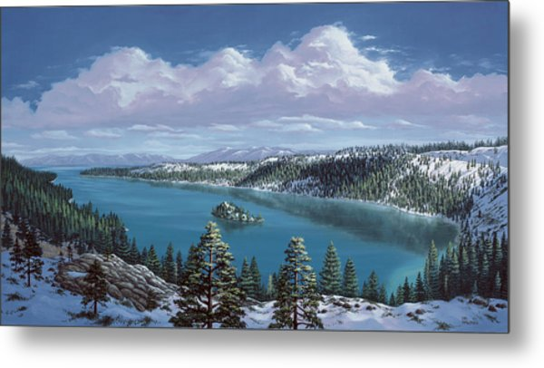 Emerald Bay - Lake Tahoe Metal Print