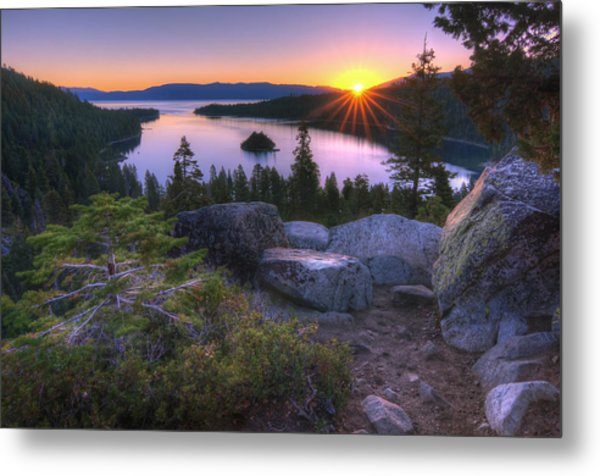 Emerald Bay Metal Print