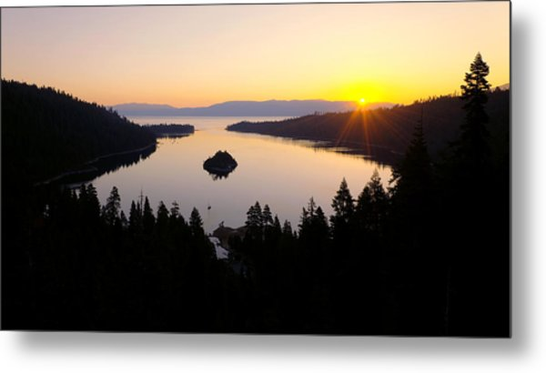 Emerald Dawn Metal Print
