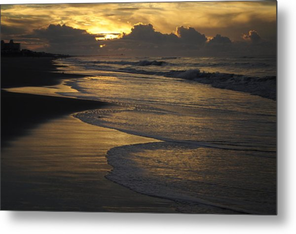 Emerald Isle Sunrise Metal Print